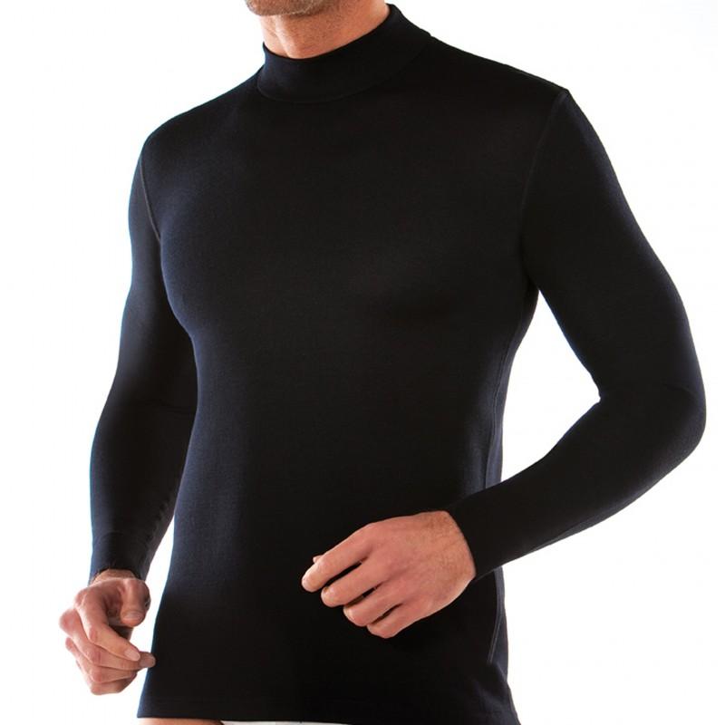cf9684a77f68 Ανδρική μπλούζα με λίγο ψηλό λαιμό PIERRE CARDIN lupetto