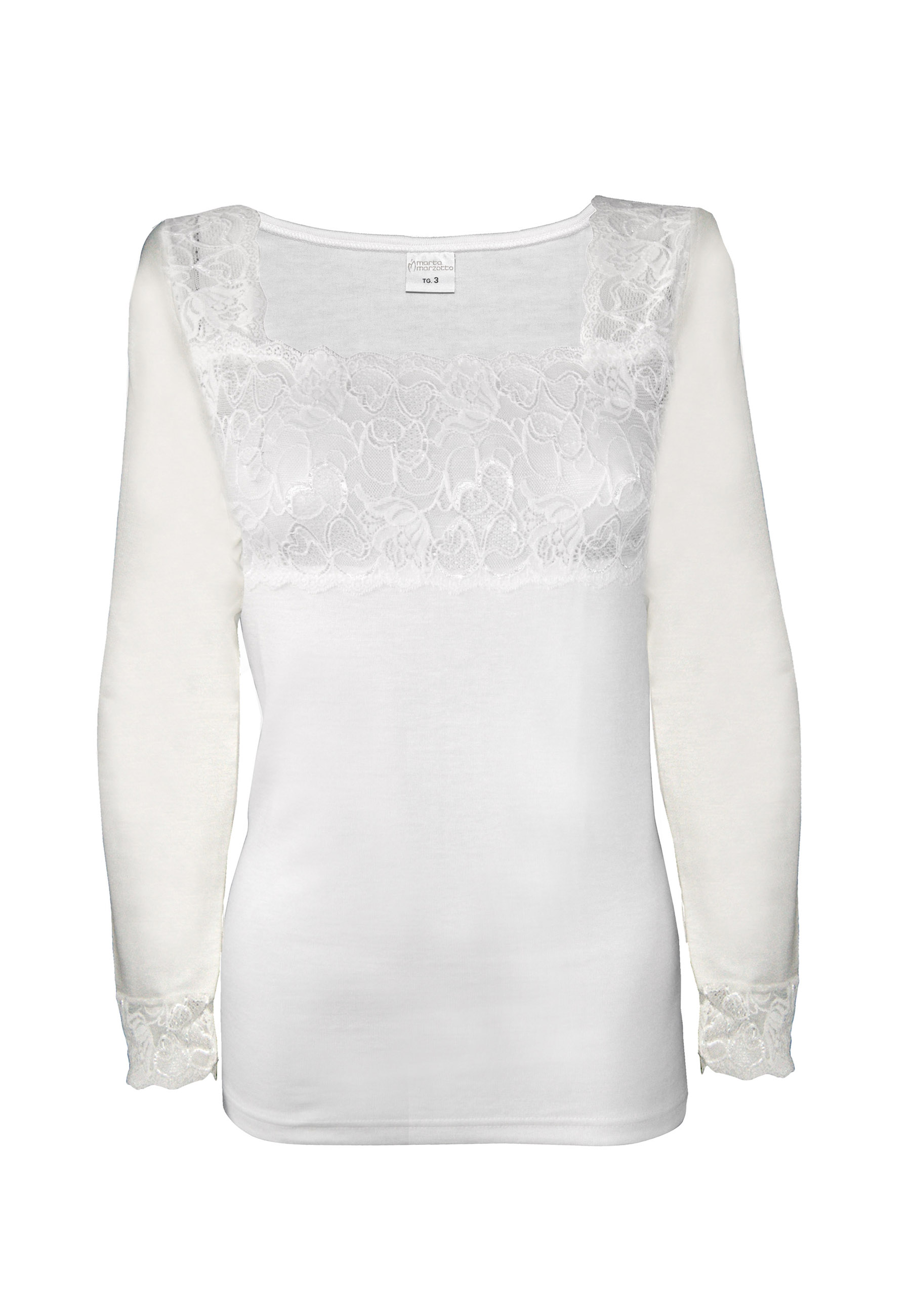 d4511c58230 Ισοθερμική μπλούζα μαλλί+ βαμβάκι MARTA MARZOTTO μόνο στο BUSTO