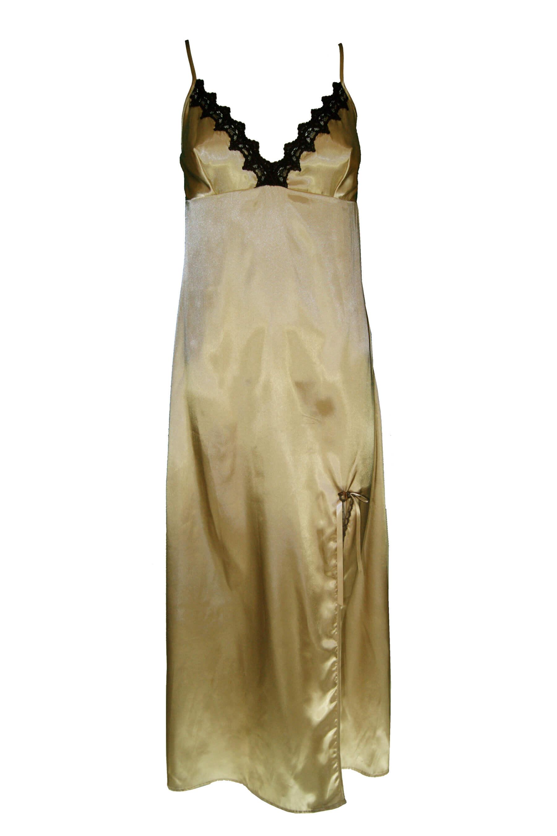 Μάξι νυχτικό σατέν Ανδρικά και γυναικεία εσώρουχα Busto - Εικόνα προϊόντος ad73b54f105