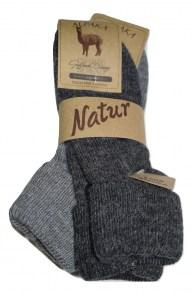 Ισοθερμικές γυναικείες Μάλλινες κάλτσες bi pack ανθρακί και γκρι 8c66cfa00b2